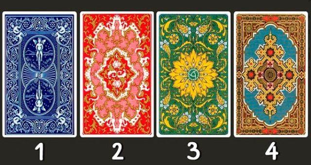 Válassz egy kártyát a négyből, és tudd meg milyen üzenete van számodra!