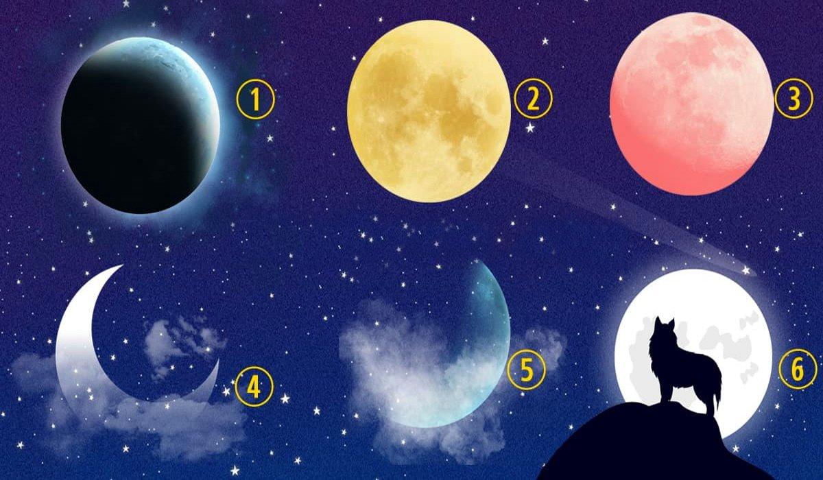 Válassz egy Holdat, amelyik a legközelebb áll a szívedhez, és megtudhatod, hogy mi az életutad!